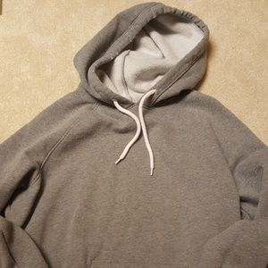 Grey hoodie. I love it but i only wear it one time